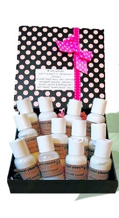Scented Lotions Sampler Box C and D
